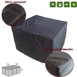Image 2 - Outdoor garten möbel regenschutz outdoor terrasse tische und stühle wasserdichte abdeckung sofa regen und schnee abdeckung staub abdeckung