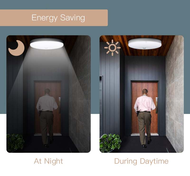Led Ceiling Light Motion Sensor Ceiling Lamp 220V LED Round Lamps Kitchen Lamp Surface Night Lights For Indoor Lighting