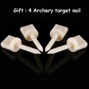 Image 5 - Archery Shooting Target Set 50 * 50 * 5cm EVA Foam Target With Target Papers Nails Outdoor Sports Hunting Archery Accessories