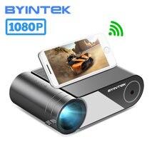 Byintek k9 completo hd 1080p led portátil filme jogo mini projetor de cinema em casa beamer (opção multi-tela para tablet de telefone inteligente)