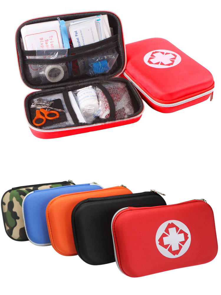 Bag Travel-Set Medical-Pouch First-Aid Orange Emergency-Survival-Kit Black Outdoor Tactical