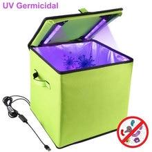 Portable UV Ozone Sanitizer Box Germicidal Sterilizer Bag LED Disinfection Cleaner for Mask Phone Gloves Bottle Toys New Apr13