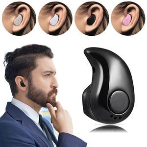 Image 1 - מיני אלחוטי Bluetooth אוזניות באוזן ספורט אוזניות אוזניות אפרכסת עם מיקרופון לכל טלפונים חכמים עבור iPhone סמסונג Xiaomi HTC