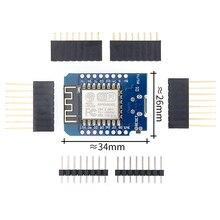 5 adet D1 mini Mini NodeMcu 4M bayt Lua WIFI şeylerin Internet kalkınma kurulu tabanlı ESP8266