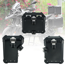 """אופנוע זנב מקרה תא מטען תרמיל למעלה תיבת תיק מטען עבור BMW R1200GS R1200 GS עו""""ד LC הרפתקאות R1250GS R 1250GS 2013 2020"""