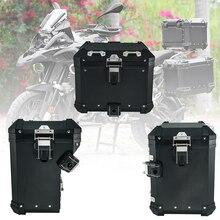 Caso da cauda da motocicleta tronco alforje caixa superior saco de bagagem para bmw r1200gs r1200 gs adv lc aventura r1250gs r 1250gs 2013 2020