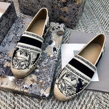 Espadrilles Flats Women shoes 2020 Round Toe Casual Ladies
