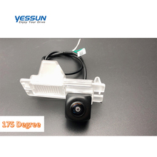 Yessun 175 градусов рыбий глаз HD камера заднего вида для Ssangyong Rexton Kyron Korando Actyon Камера заднего вида wifi