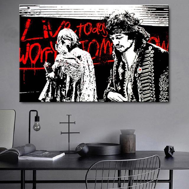 Картины на холсте «живите сегодня волнуйтесь завтра»