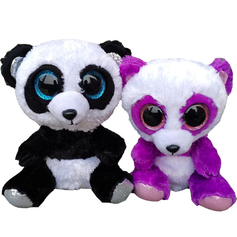 Bamboo Black White Panda Boom Boom Panda Plush Toys Stuffed Animals Kids Toys Gift Dolls Cute