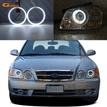 Excellent CCFL Angel Eyes kit Halo Ring Ultra bright For Kia Optima MAGENTIS MS 2003 2004 2005 2006 Facelift headlightring ringring forring kit