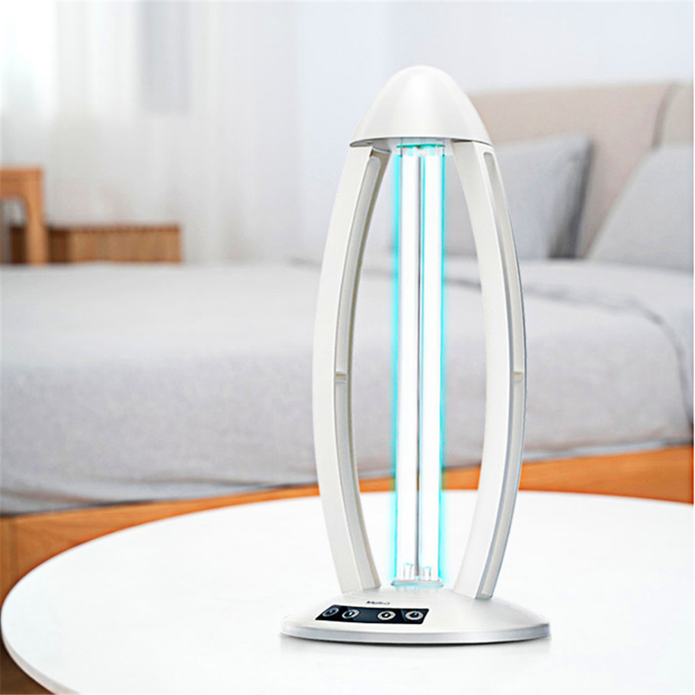 360° 36W Ultraviolet Sterilizer Lamp 220V Germicidal UVC Disinfection Lamp Acaricide Coronavirus Prevention With Remote Control 6