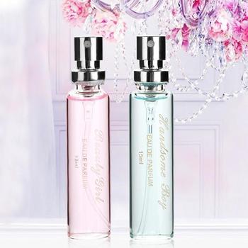 Nowe perfumy Unisex perfumy trwały kwiatowy zapach lekki zapach zapachowy 15ml perfumy damskie perfumy zapachowe tanie i dobre opinie Kobiet CN (pochodzenie) CHINA Dezodorant spray