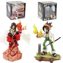 Lensple Shaman King Figure Toy Yoh Asakura Hao ARTFX J scala 1/8 preverniciata Anime modello da collezione Dolls