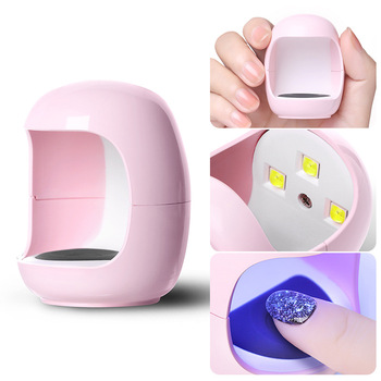 Mini Small UV LED Manicure Nail Lamp For Manicure Gel Nail Salons Dryer Drying Nail Polish Lamp 30s Auto Sensor Manicure Tools image