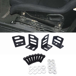 Low Down Ride Side Seat Mounting Brackets Fits most slider or rail such as Bride, Sparco, Recaro seats sliders or bases