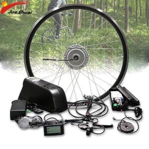 Bafang набор для преобразования электрического велосипеда 48 В 350 Вт 500 Вт, передний мотор, бесщеточный мотор-концентратор, комплект для электро...