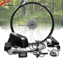Bafang Electric Bike Conversion Kit 48V 350W 500W Vorne Motor Rad Bürstenlosen Hub Motor Ebike Kit mit samsung LG Batterie E Bike