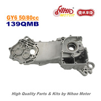 TZ 54 50cc 80cc Big Case Left GY6 Parts Chinese Scooter 139QMB Motorcycle Engine Spare