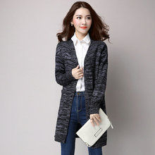Woman Autumn Spring Wool Knit Cardigan Dark Gray Red Open Stitch Design Sweaters Women Casual Plain Knitwear With Pockets Outer pockets knit open front cardigan