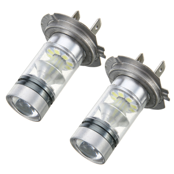 цена на 2pcs H7 Car Headlight 100W LED Car Fog Tail Driving Light Headlight Bulb High Brightness White Lamp Car Styling