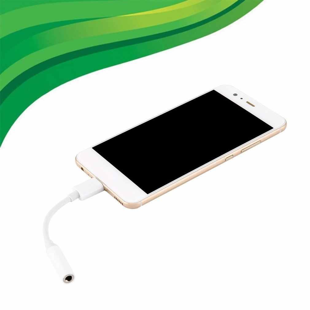 Typu C do 3.5mm słuchawki adapter do kabla usb 3.1 typu C USB-C mężczyzna do 3.5 AUX audio żeński Jack dla Xiaomi Samsung
