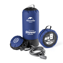 Naturehike 11L Pvc Outdoor Inflatable Shower Pressure Shower Water Bag Portable Camp Shower Lightweight Travel PVC Water Storage цена