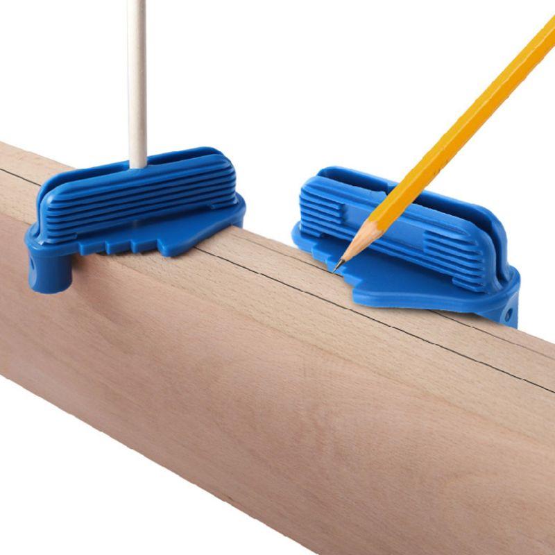 Center Center Gauge Scriber Finder Accuracy Portable Carpenter Woodworking Alignment Line Drilling Hole Measurement Connection