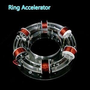 Image 1 - טבעת מאיץ ציקלוטרון ההייטק צעצוע פיזי דגם Diy ערכת ילדי מתנת צעצועים