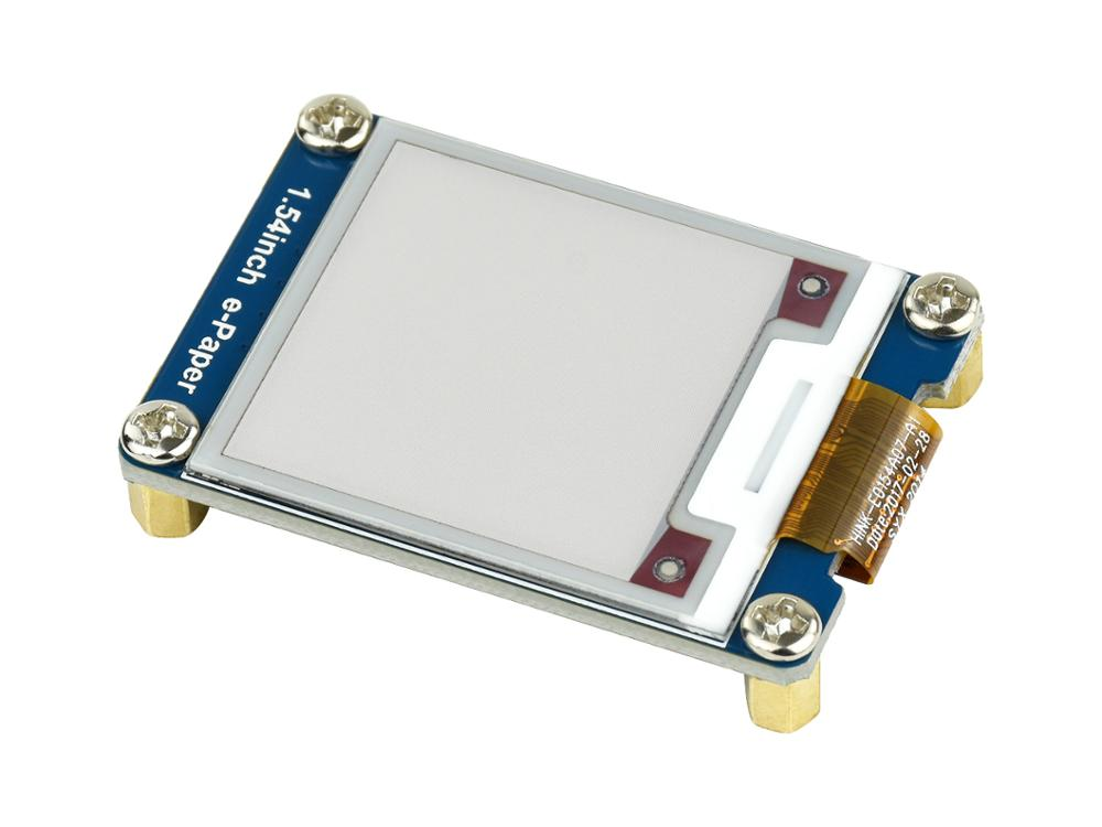 Купить с кэшбэком 1.54inch e-Paper Module (B) E-Ink Display Module 200x200 Red Black White Three-color SPI No Backlight Ultra low consumption