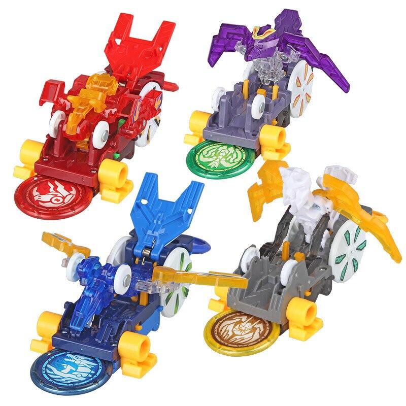Скричеры дикие AULDEY Burst, машинка-трансформер, экшн-фигурка, мульти-машинка, игрушечная машинка-трансформер 360