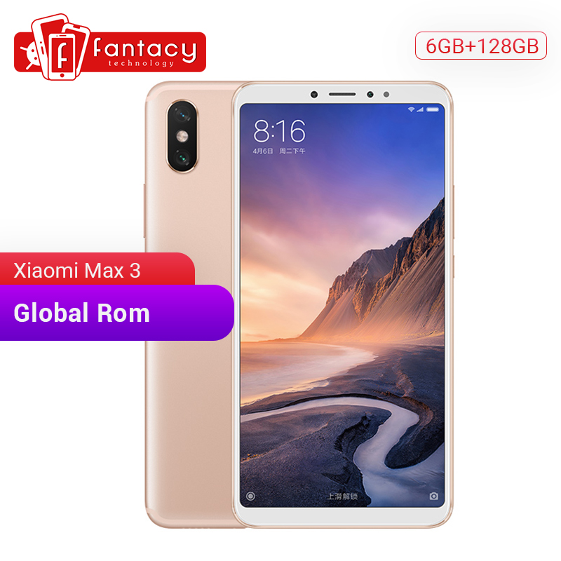In Stock Global ROM Xiaomi Mi Max 3 6GB 128GB 6.9