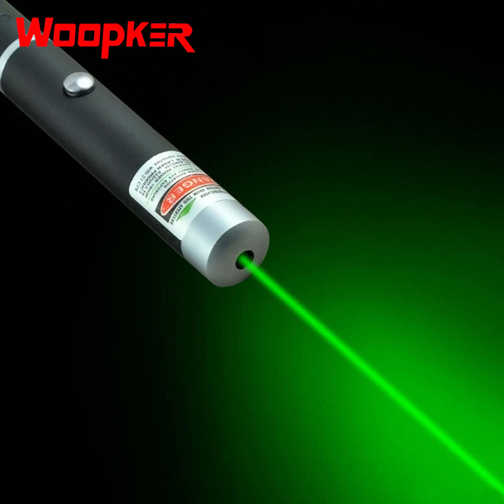 Powerful Laser Red Purple Green Laser Pointer Pen Visible Beam Light Adjustable Hunting Laser Bore Sighter Without Battery