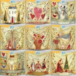 130*150cm Cartoon psychodeliczny gobelin ściany wiszące ściany koc ozdoby do dekoracji wnętrz koc dekoracja sypialni narzuta rzuć