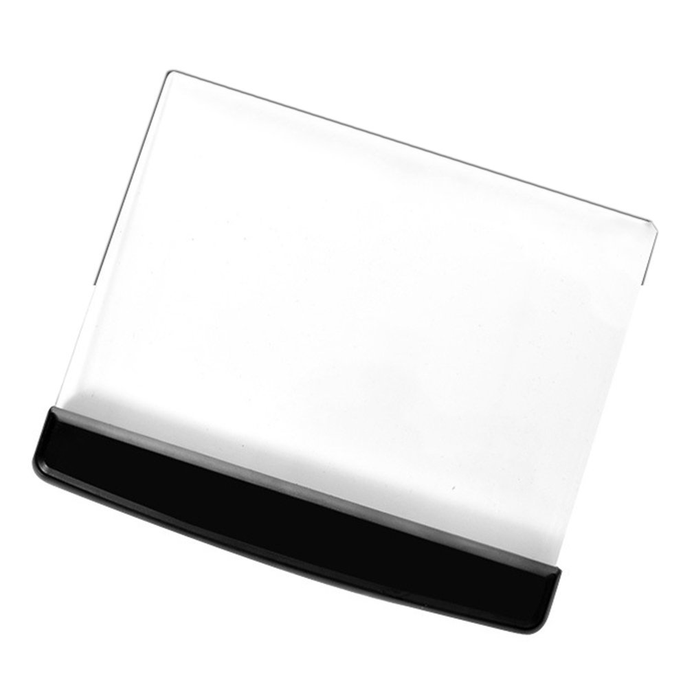 Portable Ultra thin Flat Plate Panel Reading Light Students Night Vision Light Eye Protect Battery Plastic Book Light Lamp