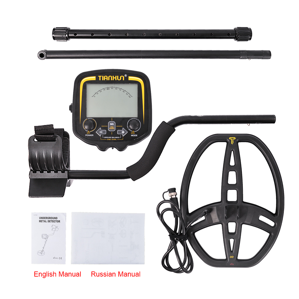 Free Shipping TX850 MD 4080 Professional Under Ground Metal Detector de metal Search Pinpointer Gold Detector
