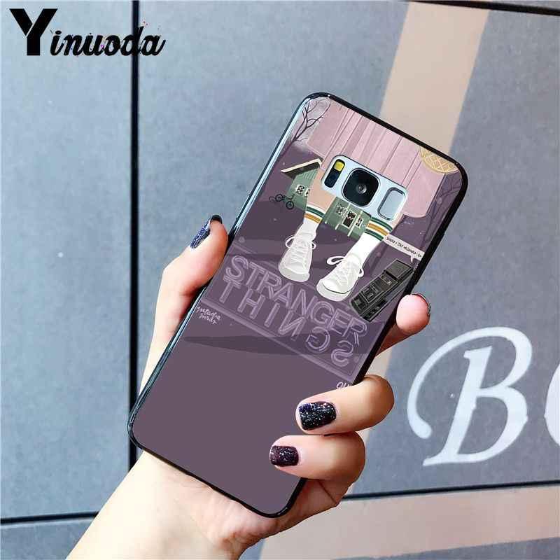 Yinuoda Đèn Giáng Sinh Nên Ở Lại Nên Người Lạ Điều Phonecase Cho Samsung S10 Plus S10E S6 S7 S8 S9 Plus S10lite s5 M10