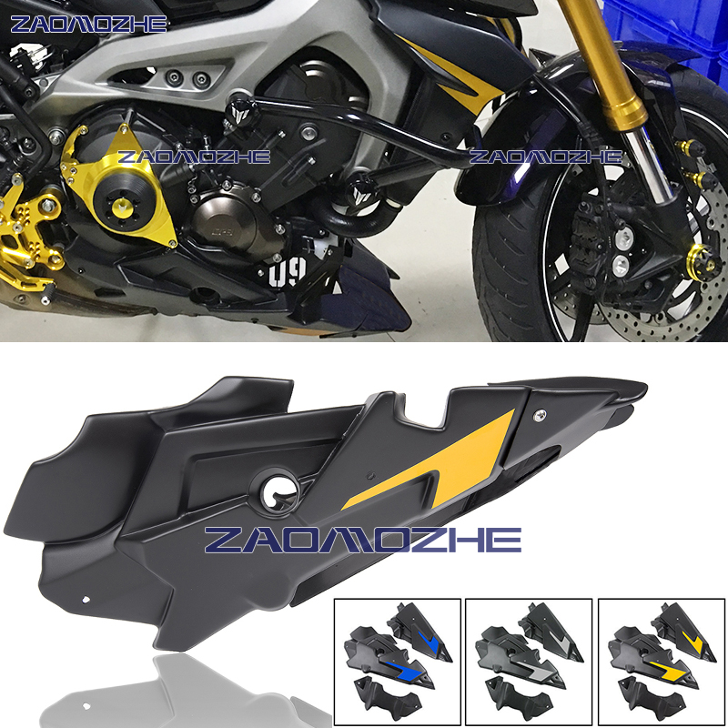 Ocamo For YAMAHA MT09 MT-09 2014 2015 2016 2017 Engine Guard Case Slider Cover Protector gray
