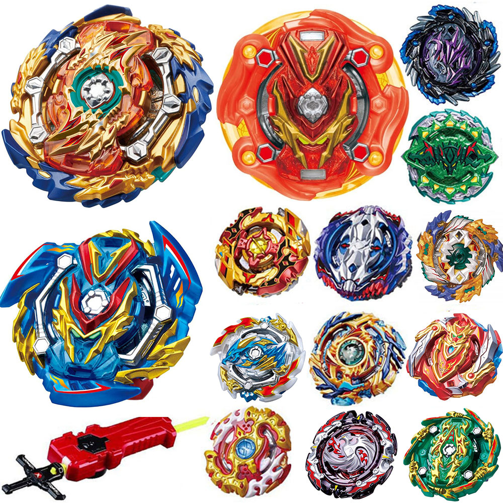 New Launchers <font><b>Beyblade</b></font> GT metal toupie <font><b>Burst</b></font> <font><b>B</b></font>-<font><b>131</b></font> <font><b>B</b></font>-127 <font><b>B</b></font>-125 <font><b>B</b></font>-<font><b>131</b></font> bayblade <font><b>burst</b></font> with kid Bay Bey blade blades toys 48965 image