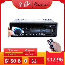Podofo 1DIN In Dash Car Radio Stereo Digitale di Controllo Remoto Bluetooth Audio Stereo di Musica 12V Auto Radio Mp3 lettore USB/SD/AUX IN