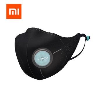 xiaomi airpop Adults Face Protective Mask With Valve Adjustable Earloop Anti Hze Dust Winter Mouth Cover
