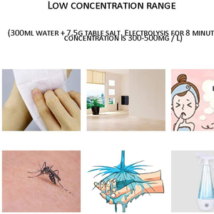 Image 5 - 220V/110V Hypochlorous Acid Water Maker Machine Household Disinfectant Machine  Healthy Environmental Water Purifier
