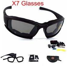 Tactical Goggles X7 Polarized Military Airsoft Sunglasses Ar