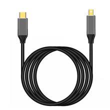 Kabel USBC do Mini displayport 6Ft rodzaj USB C Thunderbolt 3 do mini DP przewód 4k praktyczne przenośne kable