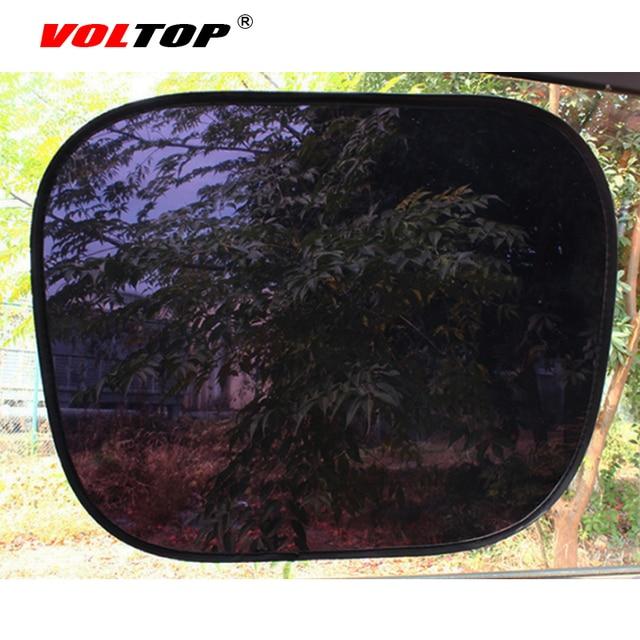 2 sztuk Auto kurtyny boczne osłony przeciwsłoneczne ochrona UV osłona przeciwsłoneczna do samochodu osłona przeciwsłoneczna czarna osłona przeciwsłoneczna boczna tylna pokrywa czapka z daszkiem