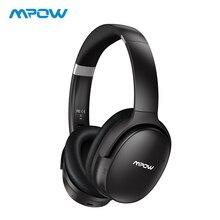Mpow H10 HiFi stéréo musique casques d'écoute suppression de bruit casque sur l'oreille 25H temps de jeu sans fil Bluetooth casque avec micro