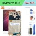 100% Новый оригинальный OLED 5,5 для Xiaomi Redmi Pro ЖК-экран + сенсорный дигитайзер Рамка для Redmi Pro ЖК-дисплей сенсорный экран