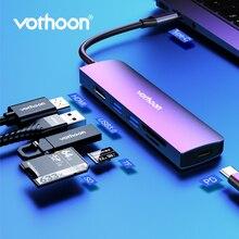 Vothoon USB C HUB Typ C zu Multi USB 3.0 HUB HDMI Adapter Für MacBook Pro Huawei Samsung S10 USB-C 3,1 splitter 3 Port USB HUB