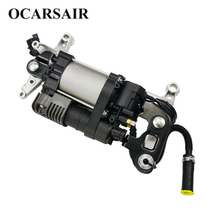 Image 3 - For VW Touareg NF II 2010 with bracket&New Cayenne II 92A Air Suspension Compressor Oem#7P0698007A 7P0698007B 7P0616006E