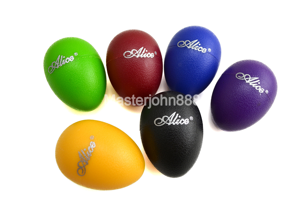 Alice A041SE Colourful Sound Eggs Shaker Maracas Percussion